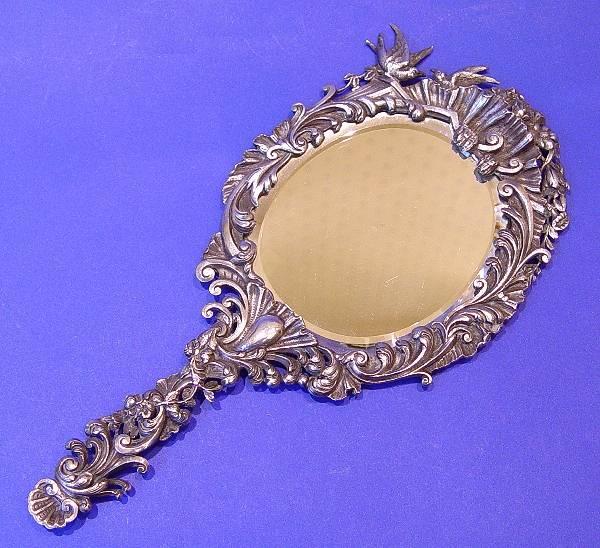 Antiqued Brass Face Mirror BRASS Pinterest Antique brass